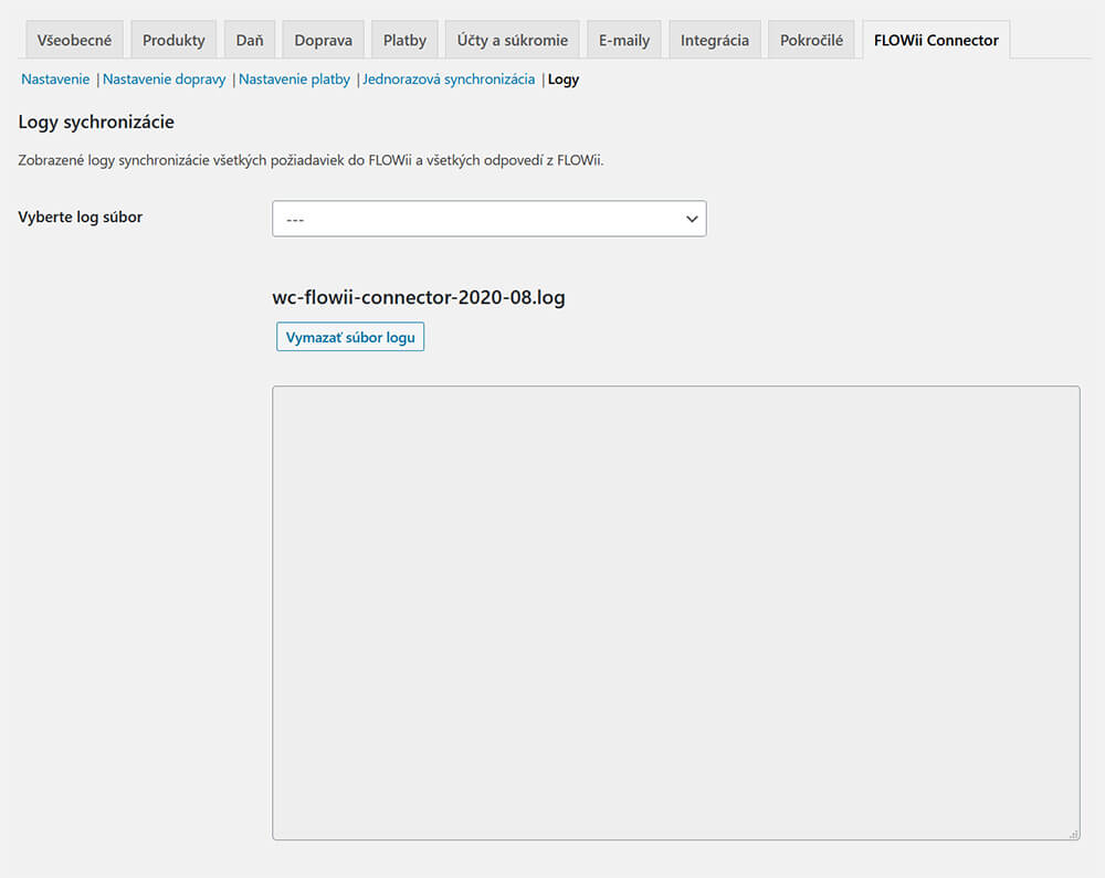 WooCommerce FLOWii Connector logy