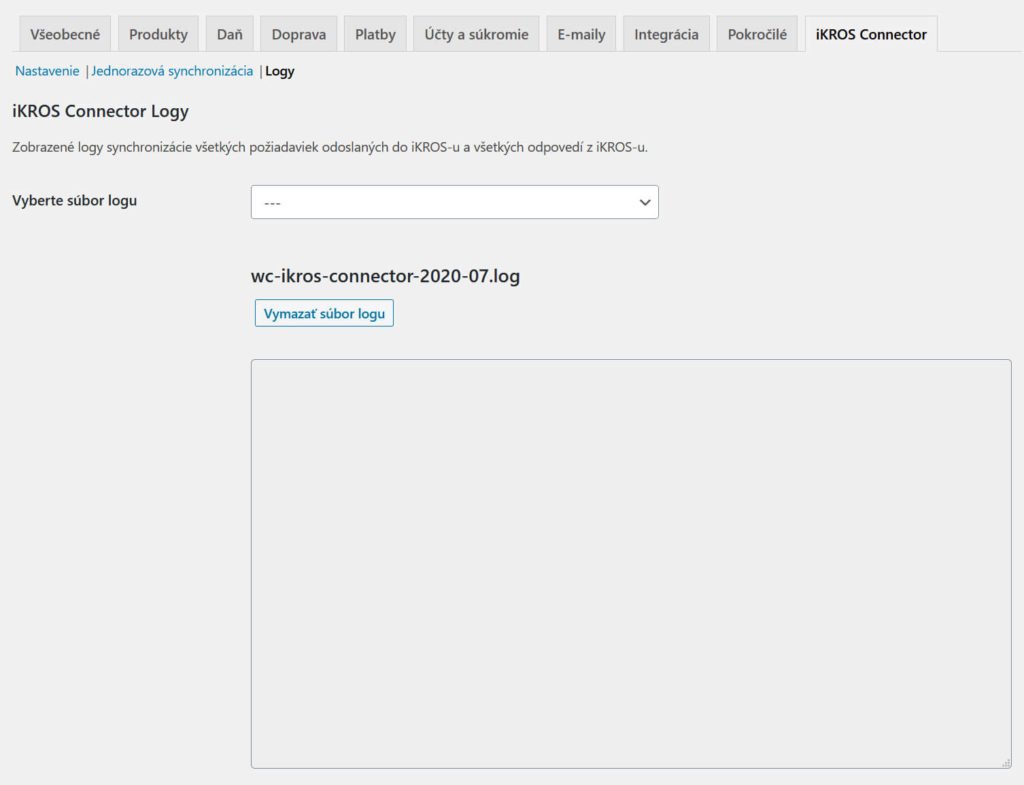 WooCommerce iKROS Connector logy